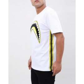 Yellow Taping Sharkmouth Shirt by ETERNITY BC / AD