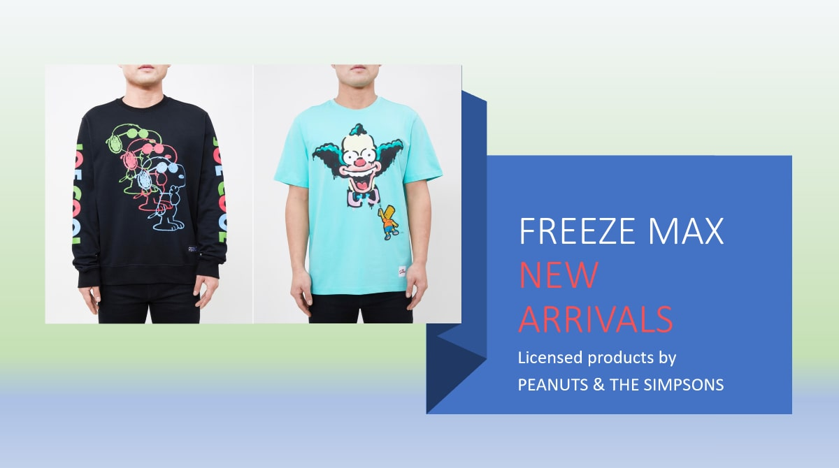 Freeze Max - New Arrivals